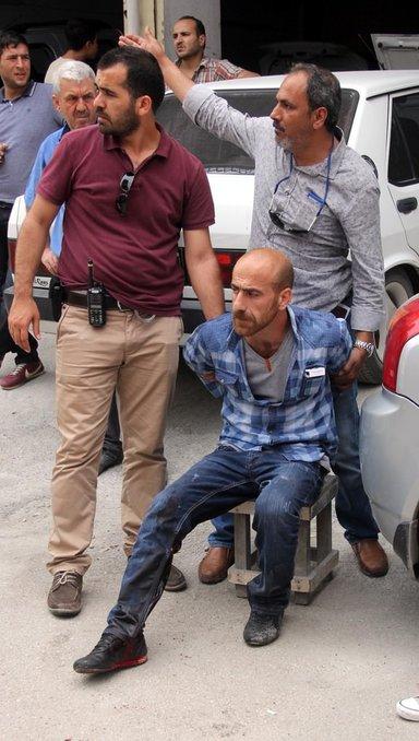 Çifte tabancalı suç makinesi polisle çatıştı
