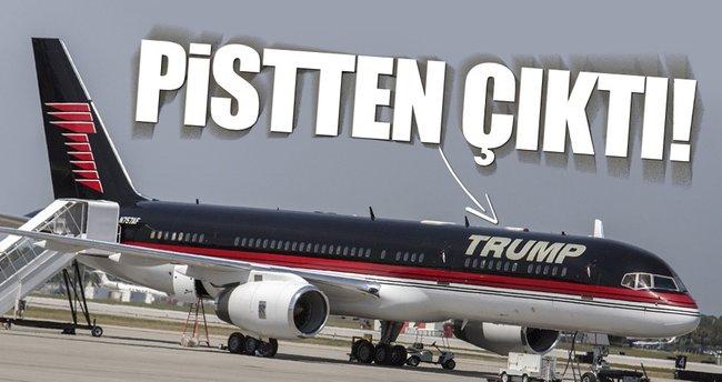 Trump'ın yardımcısı Pence'nin uçağı düştü