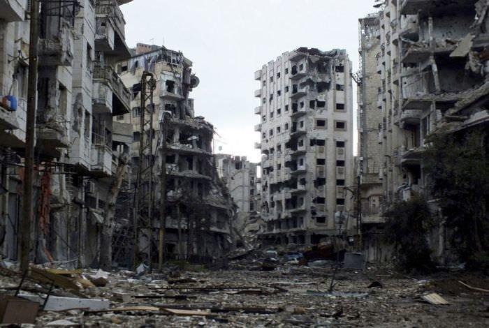 İşte Suriye'nin son halinden dehşet kareler