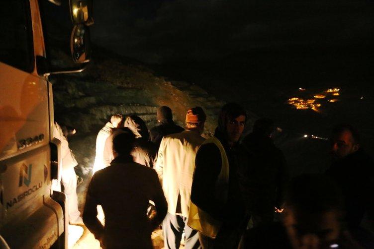 Siirt'te bakır madeninde göçük