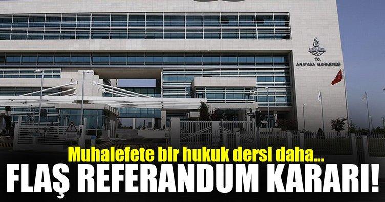 Son Dakika... AYM'den flaş karar! Mühürsüz oy pusulası başvurusu reddedildi
