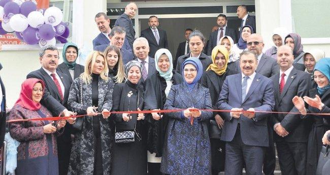 Emine Erdoğan İlim ve Kültür Merkezi açıldı