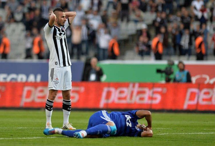 Beşiktaş - Kasımpaşa maçından fotoğraflar