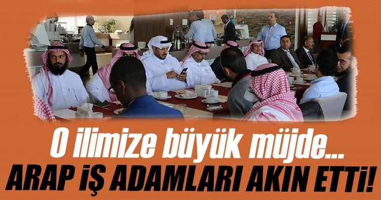 50 Arap işadamından Şanlıurfa'ya çıkarma