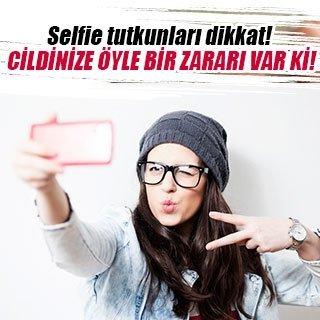 Selfie tutkunları dikkat!