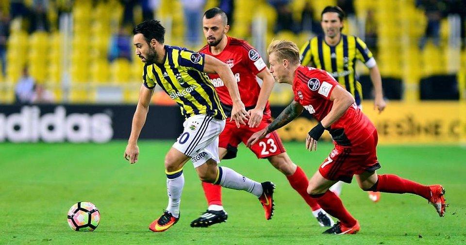 Fenerbahçe  Gaziantepspor'u ağırlıyor