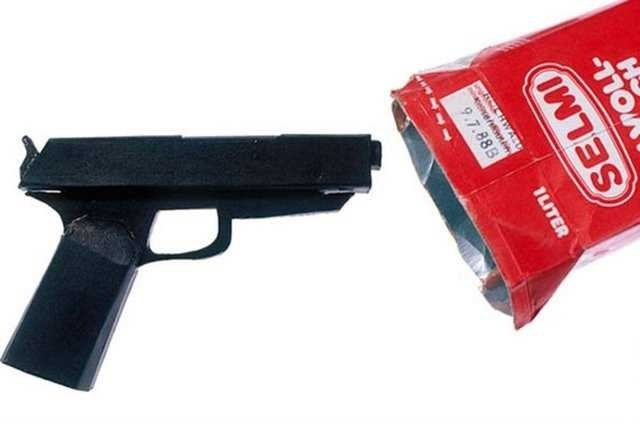 Mahkumlar tarafından yapılmış çılgın silahlar