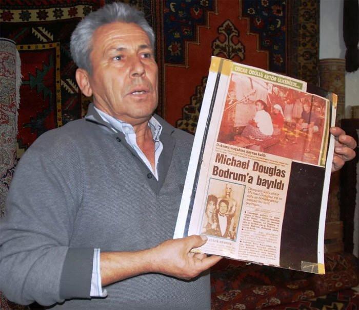 Ünlü aktörün unutamadığı Türk