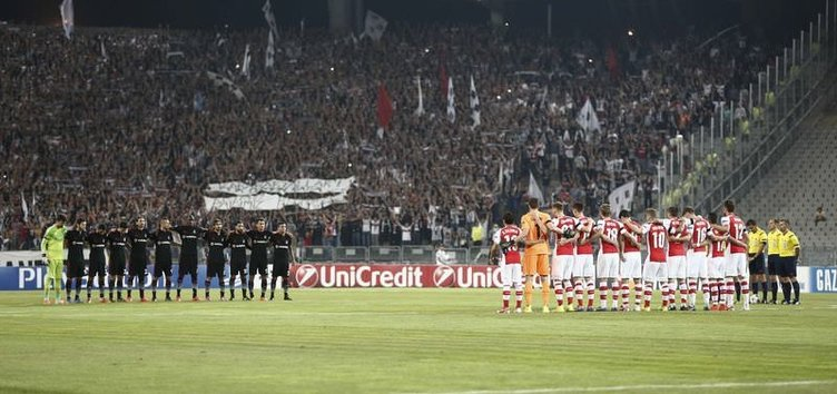 Beşiktaş - Arsenal maçının fotoğrafları