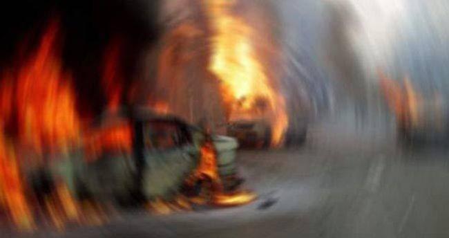 Çin'de askeri fabrikada patlama