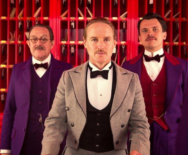Büyük Budapeşte Oteli filminden kareler