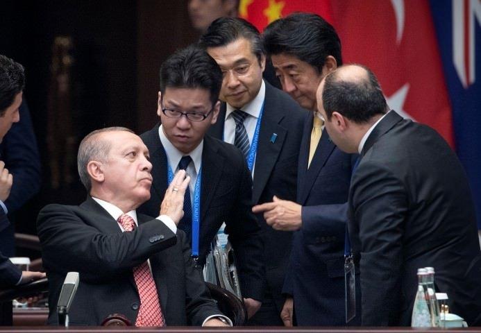 Japonya ekibinden Erdoğan'a özel ilgi