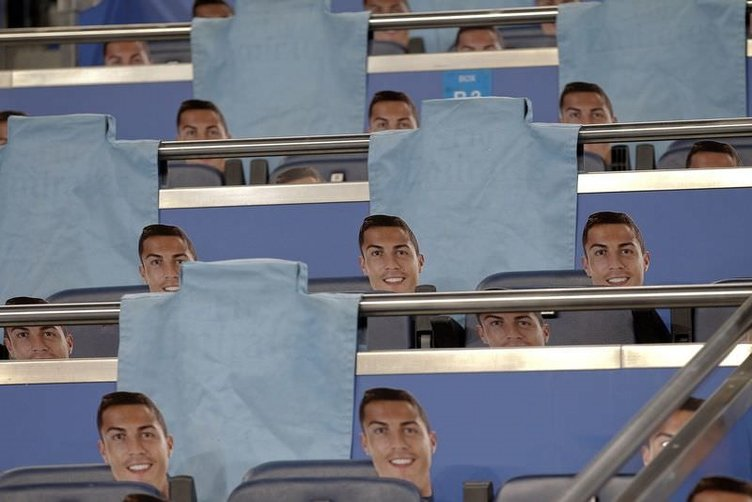 Real Madrid - Galatasaray maçından kareler