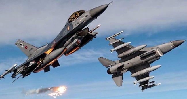Kuzey Irak ve Çukurca'ya hava operasyonu