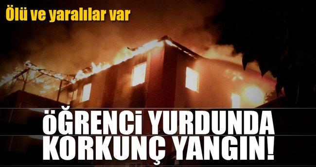 Adana Aladağ'daki yurt yangını neden çıktı?