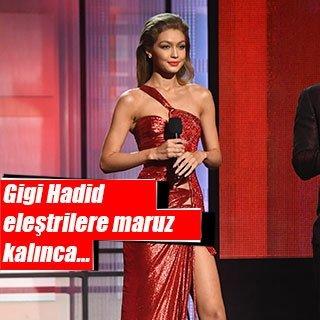 Gigi Hadid özür diledi