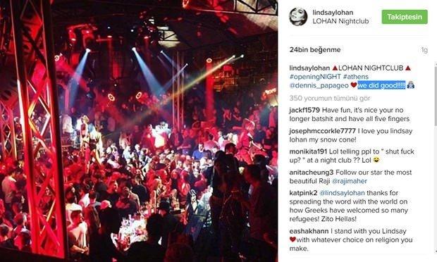 Lindsay Lohan İstanbul'da gece kulübü açıyor