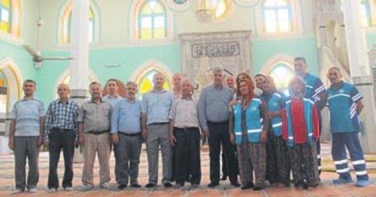 Ramazan öncesi camiler temizlendi
