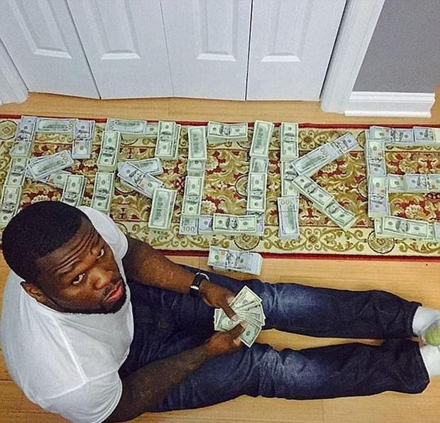 50 Cent'in bu pozları başına iş açtı