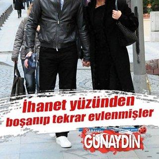 Murat Başoğlu ve Hande Bermek daha önce boşanıp tekrar evlenmişler