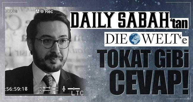 Daily Sabah'tan Die Welt'in mektubuna cevap: 'Çözüm Avrupa'nın elinde'