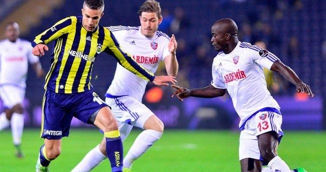 Fenerbahçe - Karabükspor maçı geniş özeti (FB 5-0 Karabük)