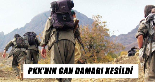 PKK'nın can damarı kesildi