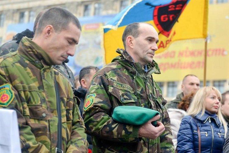 Savaştan dönen askerlere karşılama