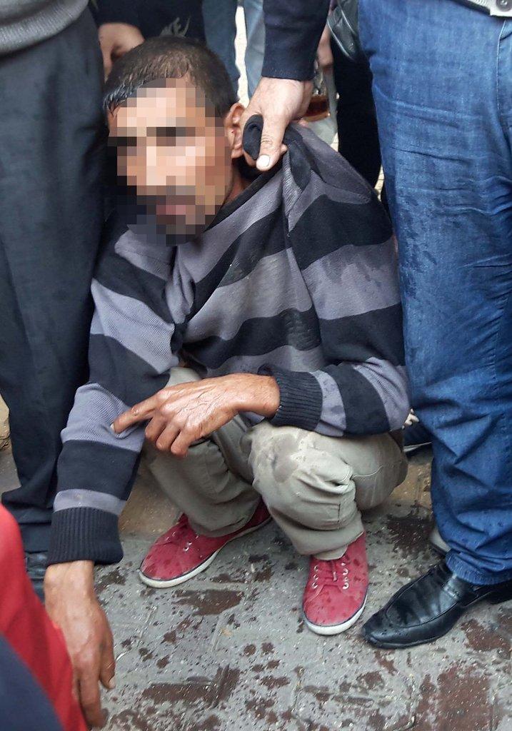 Hırsızlık zanlısını vatandaşlar yakaladı