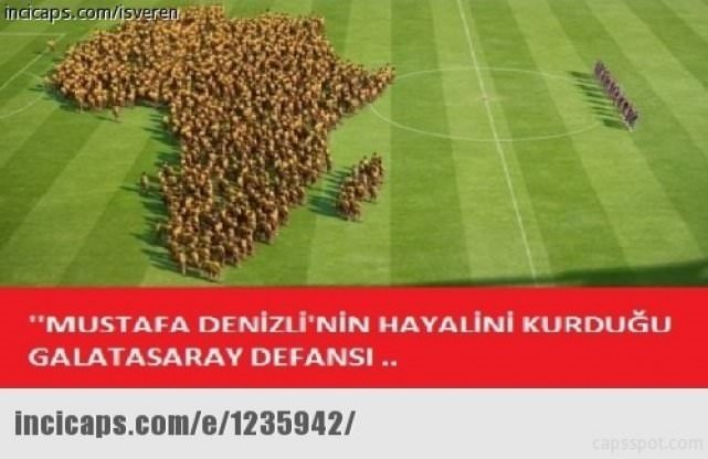 Galatasaray - Lazio maçının capsleri