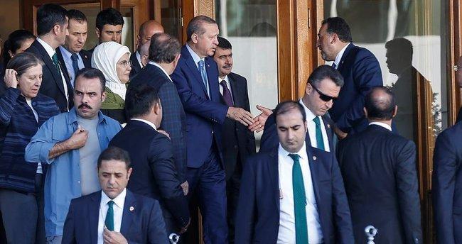 Cumhurbaşkanı Erdoğan ABD'den döndü!