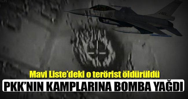Örgüt inlerine bomba yağdı