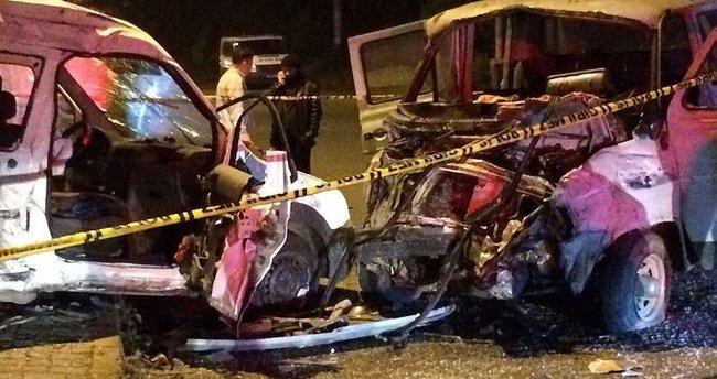 Rize'de korkunç kaza: 2 ölü, 6 yaralı
