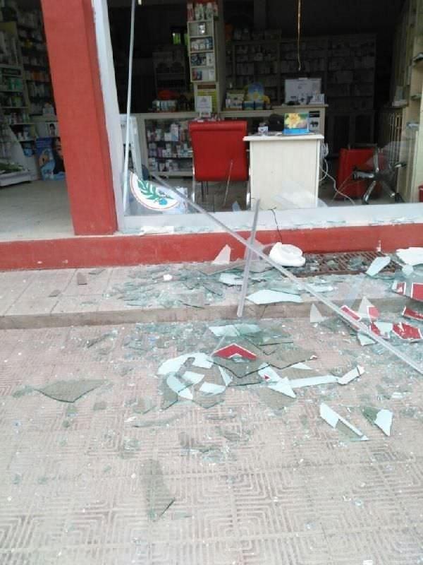 Midyat İlçe Emniyet Müdürlüğü'ne hain saldırı