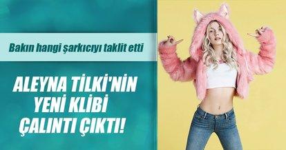 Aleyna Tilki yeni klibinde bakın hangi şarkıcıyı taklit etti! Herkes Aleyna Tilki'yi konuşuyor