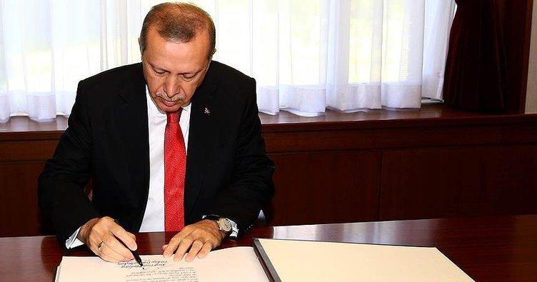 Cumhurbaşkanı Erdoğan'dan 3 üniversiteye rektör ataması!