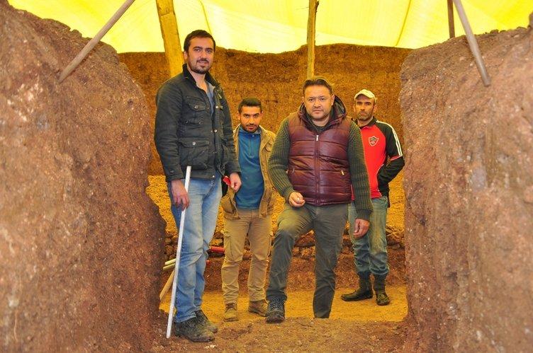 Kastamonu'daki kurganda 24 mezar bulundu
