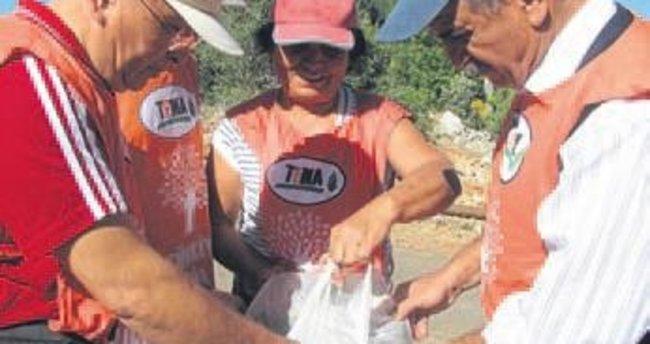 Erdemli TEMA'dan palamut kampanyası
