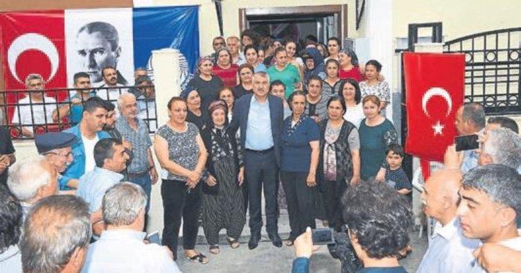 Dağlıoğlu'na yeni bir kültür evi yapıldı