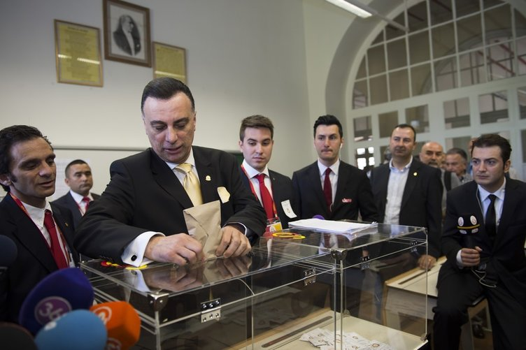 Galatasaray 36. başkanını seçti