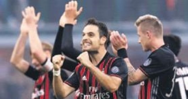 Milan tek golle güldü