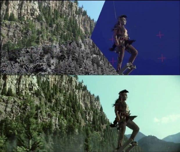 İnanılmaz film efektleri