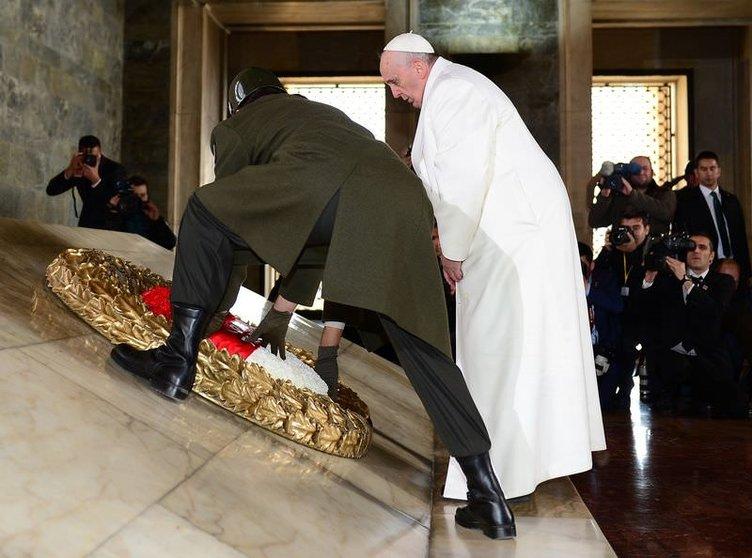 Papa Franciscus, Türkiye'de