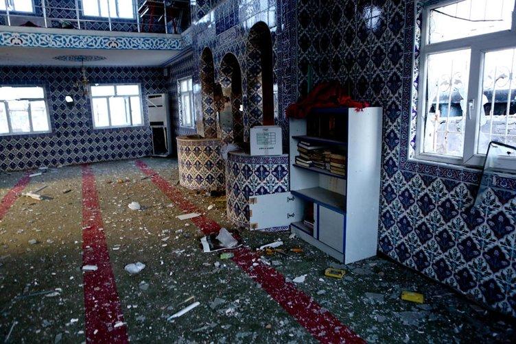 Cizre'deki cami enkaza döndü!