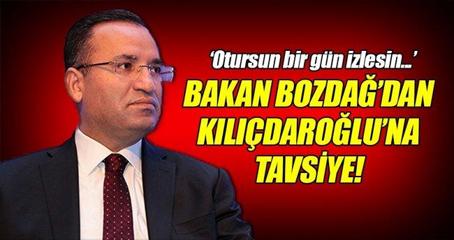 Bozdağ'dan Kılıçdaroğlu'na tavsiye!