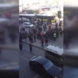 Sabiha Gökçen'de taksici terörü