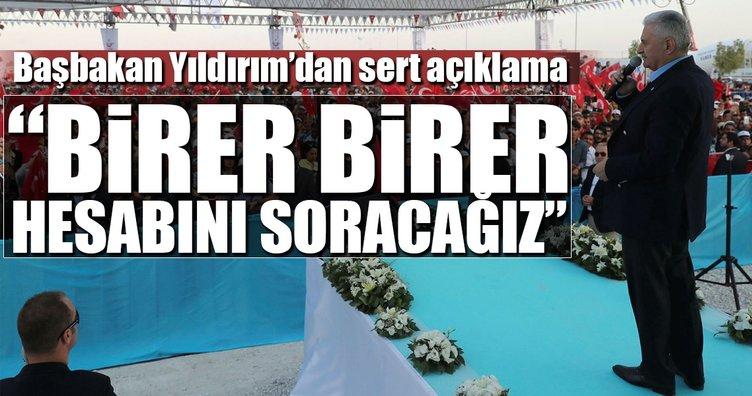 Başbakan Yıldırım'dan Konya'da flaş mesajlar!