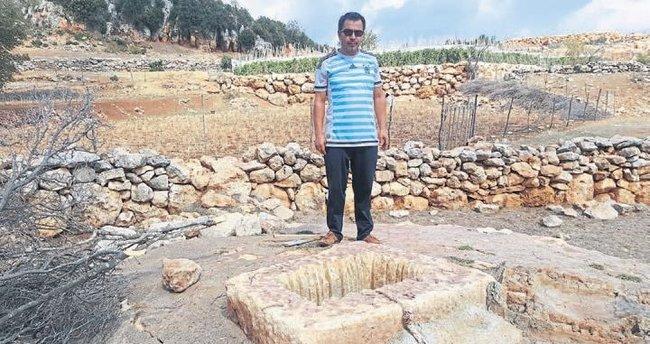 750 yıllık kuyunun suyunu zehirlediler