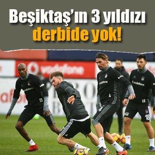 Beşiktaş, derbide Galatasaray'a konuk olacak