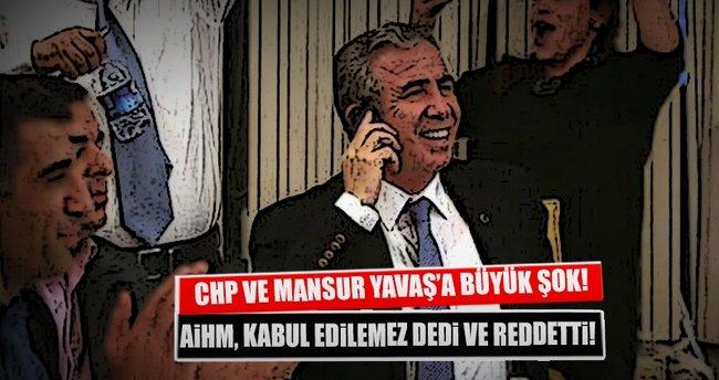 AİHM'den CHP ve Yavaş'ın başvurusuna ret